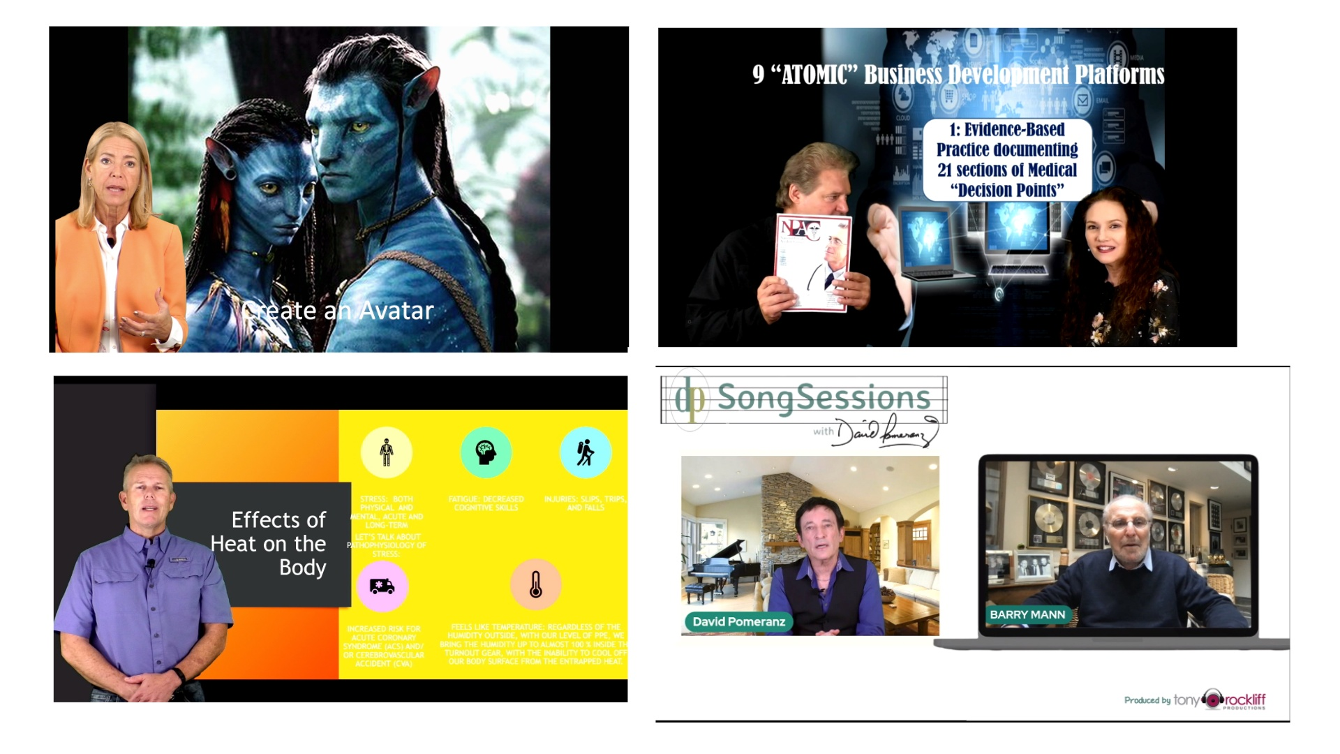 webinars b4 and after 2